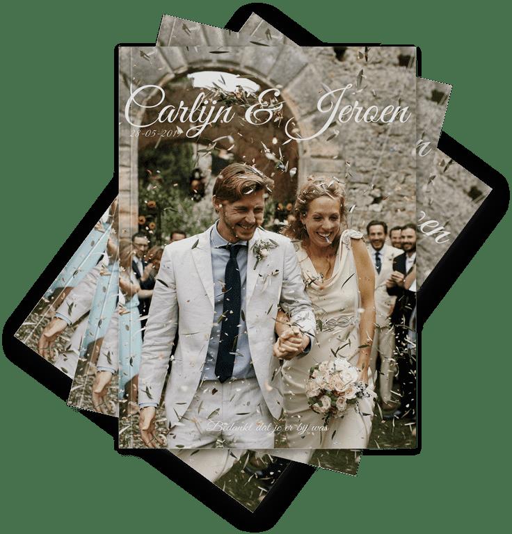 Bruiloft Glossy Magazine